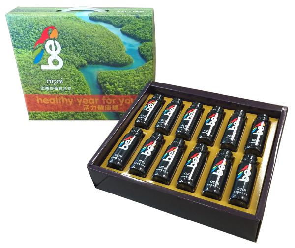 珍綠品:【珍綠品】be巴西野莓綜合飲60ml健康活力禮(12入)