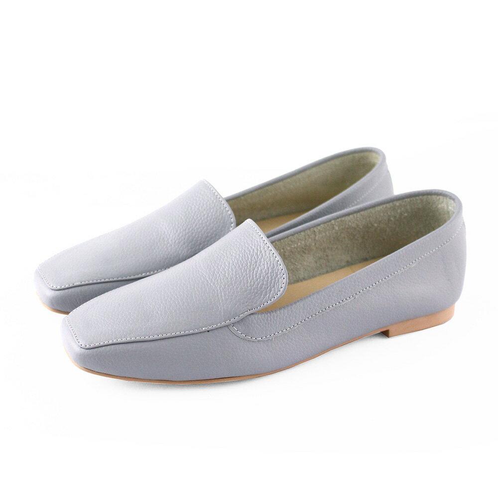【F2-19108L】一套就走方頭真皮歐貝拉_Shoes Party 5