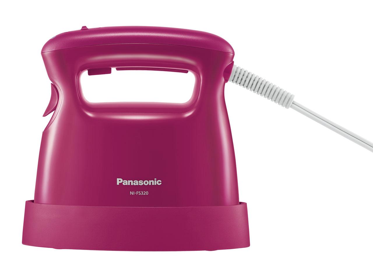 【菲比朵朵】日本代購 PANASONIC 手持衣物蒸氣掛燙兩用熨斗 NI-FS320 女性衣物除臭 殺菌 2016最新款 (OD1137)