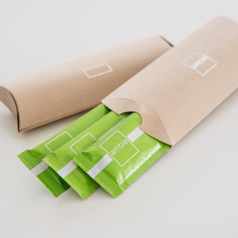 免運/安鉑水解膠原蛋白粉.小綠隨身包【三入體驗組】 1
