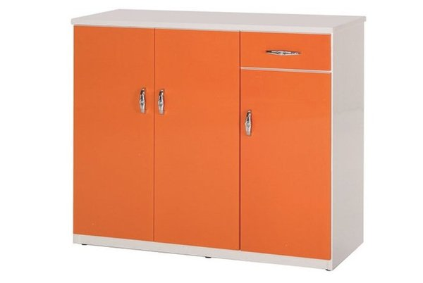【石川家居】866-02(桔白色)鞋櫃(CT-318)#訂製預購款式#環保塑鋼P無毒防霉易清潔