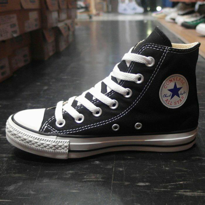 Converse Chuck Taylor All Star 基本款 黑色 黑白 帆布 高筒 M9160