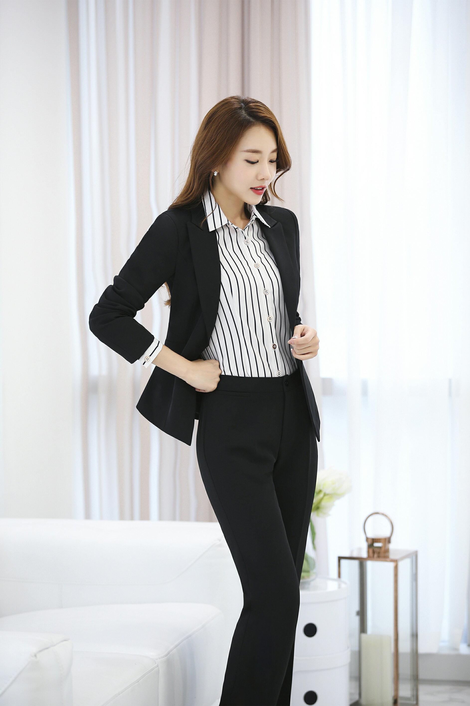 ✩鷗樂服飾~ 職業商務女士襯衫  白色