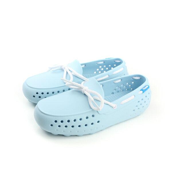 people  休閒鞋 童鞋 淺藍色 大童 no002 0