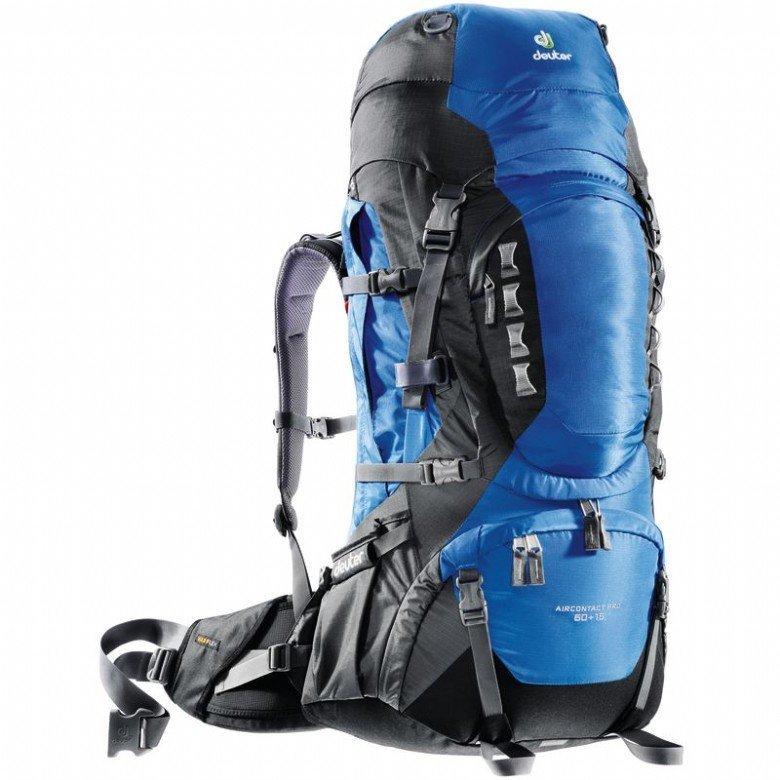【露營趣】中和 送LED手電筒 deuter 33823 Aircontact Pro拔熱式透氣背包 60+15L 登山背包