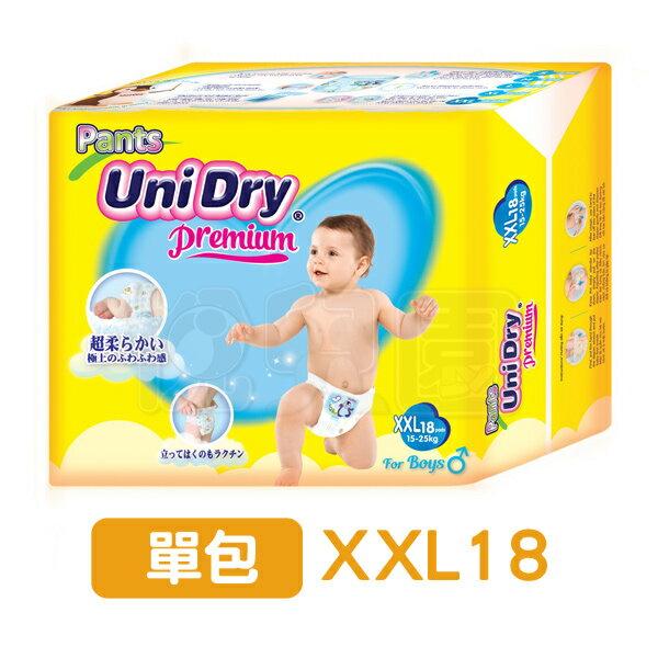 Unidry優力褲褲型紙尿褲-男生款(XXL18片)【悅兒園婦幼生活館】