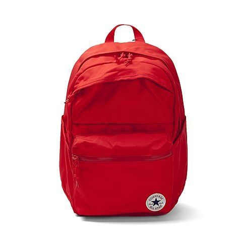 CONVERSE POLY CHUCK PLUS 後背包 雙肩 休閒 大容量 紅【運動世界】10003335-A03