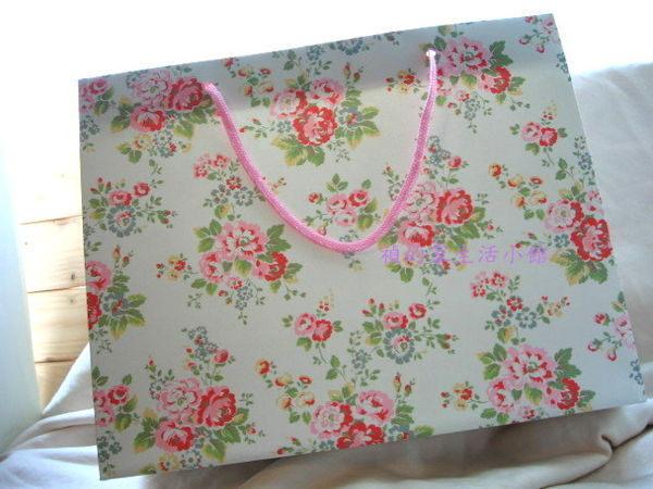 ^~Realhome^~英國 Cath Kidston ^~ 玫瑰花 紙袋