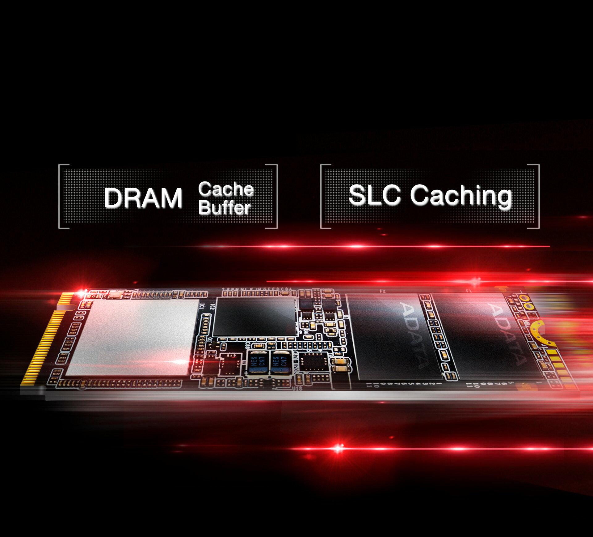 XPG SX7000 PCIe NVME Gen3x4 M.2 512GB SSD (ASX7000NP-512GT-C) 4