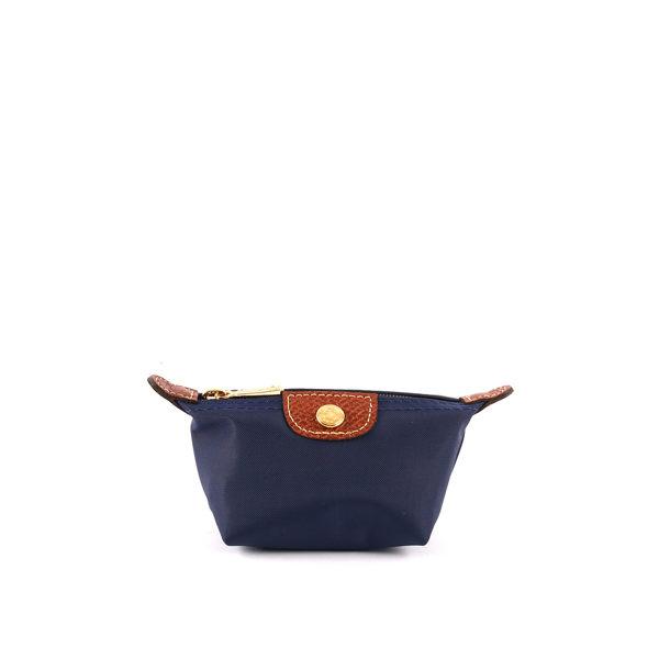 【LONGCHAMP】小零錢包(海軍藍)3693089556