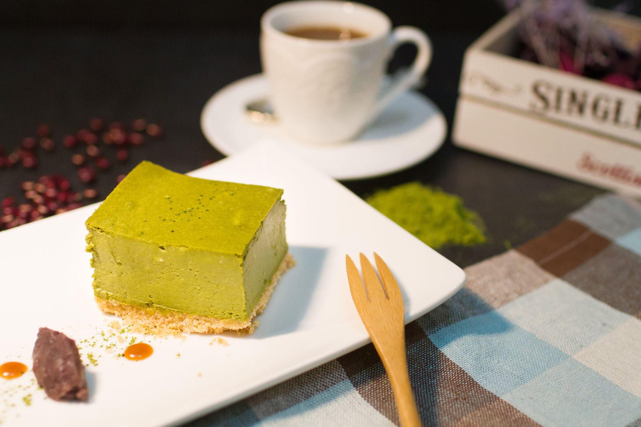 Pontus 手作甜點 ~輕檸抹茶烤乳酪~6吋圓型 ~  好康折扣