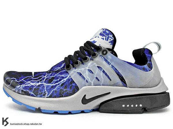 2015 鞋款 重新復刻 NIKE AIR PRESTO QS LIGHTNING 黑藍