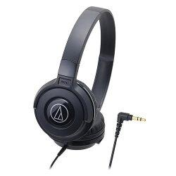 鐵三角ATH-S100黑潮流DJ款可摺疊耳罩式耳機【愛買】