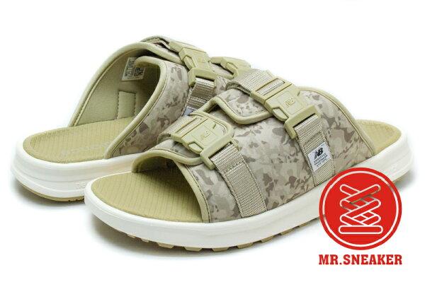 ☆Mr.Sneaker☆NEWBALANCESDL330拖鞋涼鞋米色駝色卡其沙漠迷彩