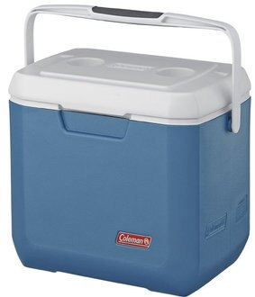 【露營趣】中和安坑 送贈品 Coleman CM-3088 26L XTREME 冷冽藍手提冰箱 行動冰箱 冰桶 釣魚露營必備