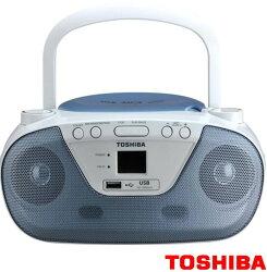TOSHIBA 東芝 NFC 手提音響 藍 TY-CRU11TW-B