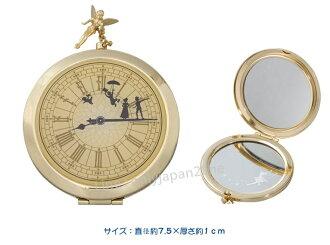 【真愛日本】12/1販售-樂園限定懷錶造型隨身鏡迪士尼 樂園限定 小精靈小飛俠 彼得潘 預購