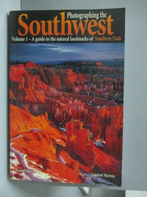 ~書寶 書T1/原文書_XBS~Photographing the Southwest: