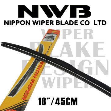 【NWB】原裝進口 三節式軟骨雨刷 18吋/45CM