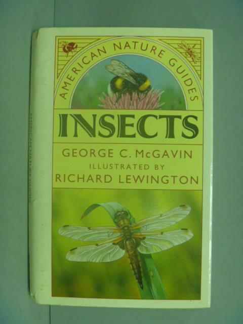 ~書寶 書T8/動植物_IIA~American Nature Guide : Insec