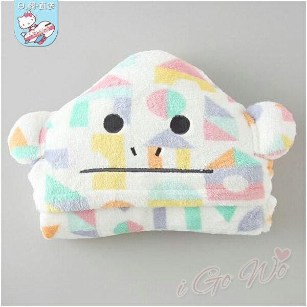 日本 宇宙人 CRAFTHOLIC  積木猴披風毛毯
