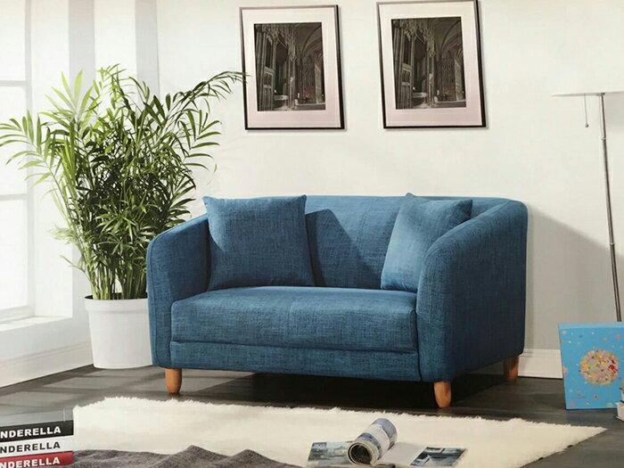 【尚品傢俱】GF-W01 莫塔 2人坐沙發/客廳沙發/會客沙發/雙人沙發椅/2人沙發/二人沙發