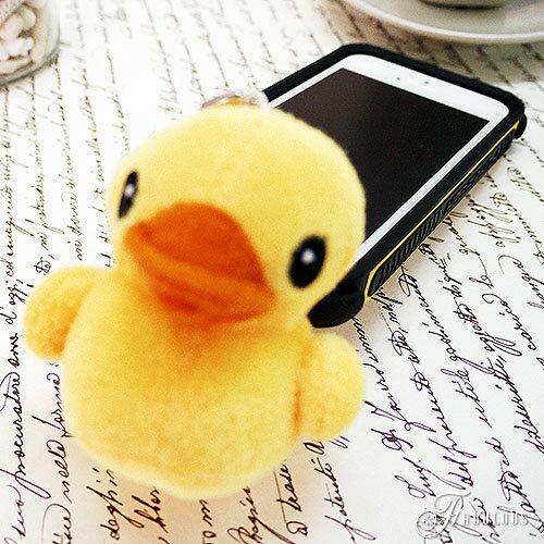 寶貝窩 黃色小鴨 超人氣療癒系可愛黃色立體小鴨手機吊飾耳機防塵塞【KL1089】