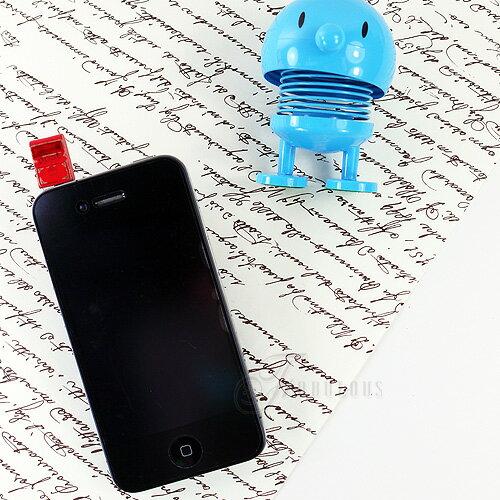 寶貝窩 Perhaps【KL01002】韓國童玩系彩色電視V.S大紅郵筒耳機塞手機吊飾 iphone 三星 HTC 3.5mm耳機防塵塞