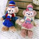 ☆Fabulous☆【TDS0003】Disney迪士尼超人氣東京限定Duffy & ShellieMay暖呼呼圍巾大衣珠鏈吊飾