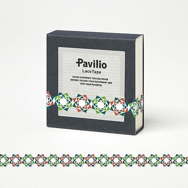 【日本Pavilio】風格膠帶MINI系列F-MI03RG綠玫瑰紋捲