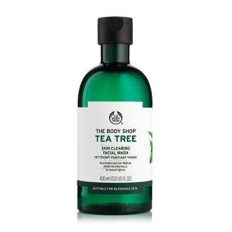 【彤彤小舖】The Body Shop 茶樹淨膚深層潔面膠 400ml 大瓶裝 真品輸入