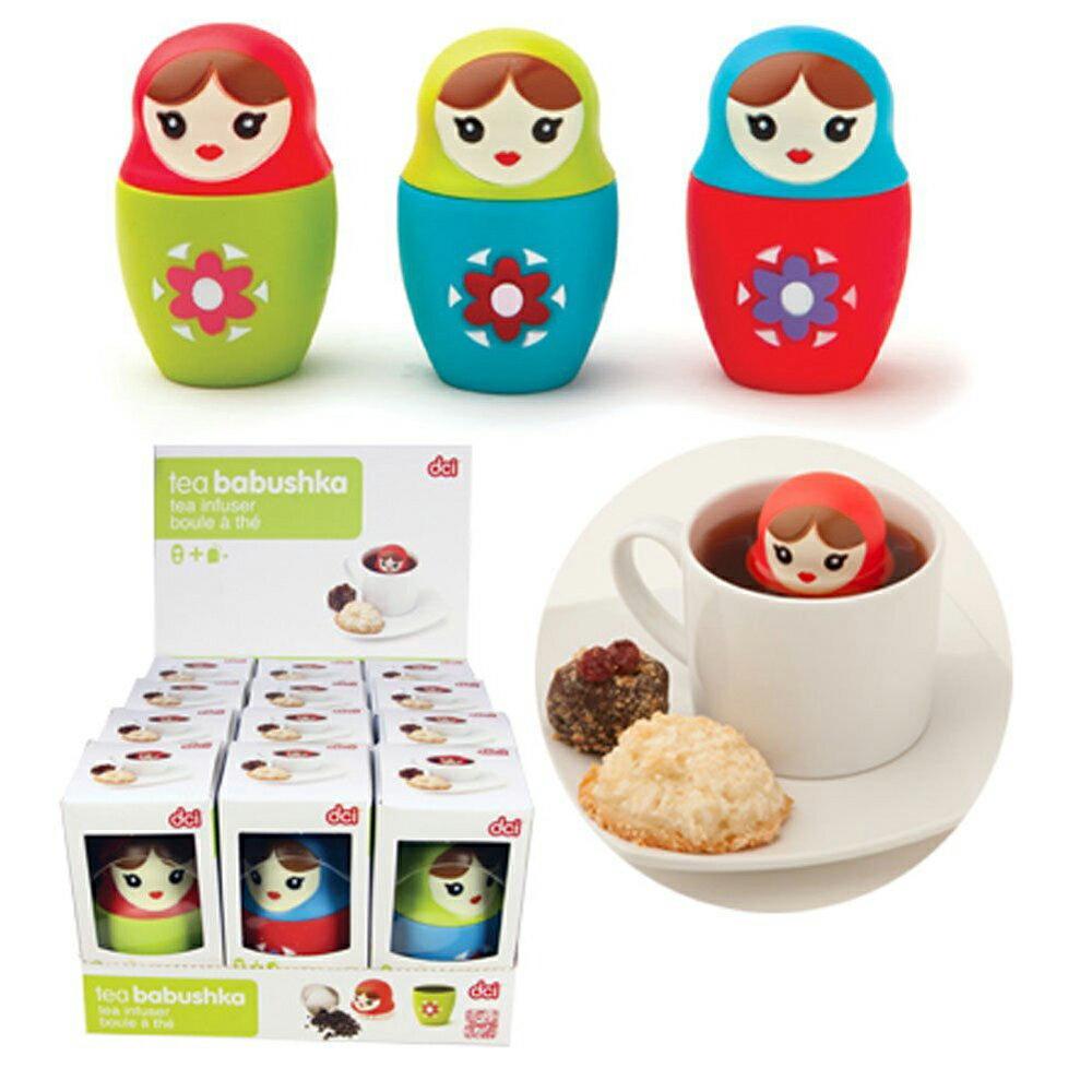 【DCI】漂浮娃娃濾茶器 1