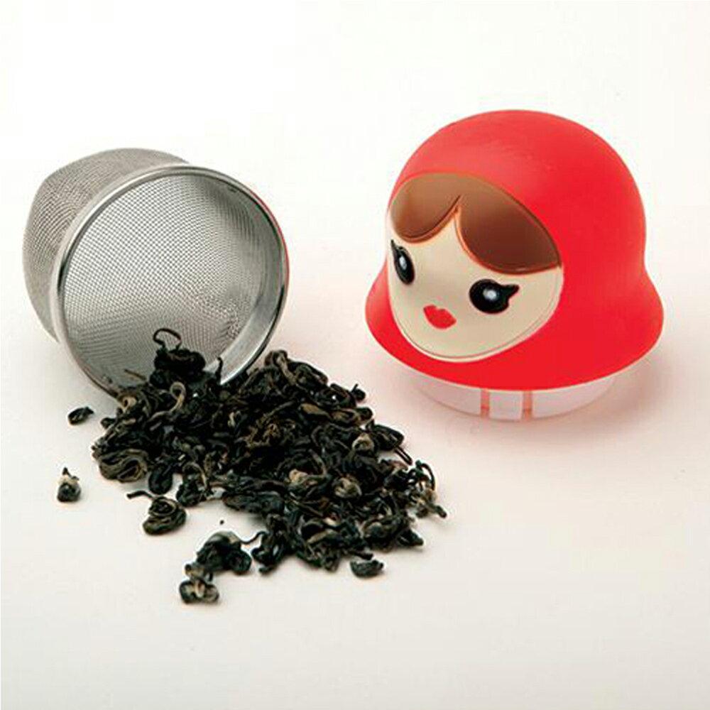 【DCI】漂浮娃娃濾茶器 3