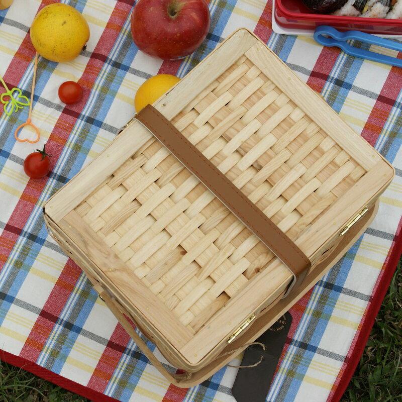 【DESTINO STYLE】輕便手提率性野餐籃 2