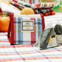 【DESTINO STYLE】256經典格紋簡易野餐保冷(溫)袋