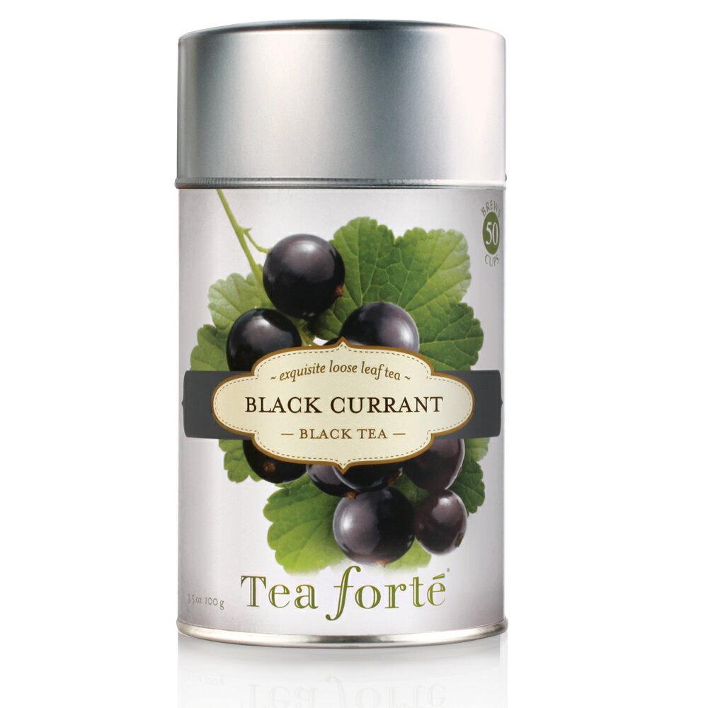 Tea Forte 罐裝茶系列 - 黑莓紅茶 Black Currant 0