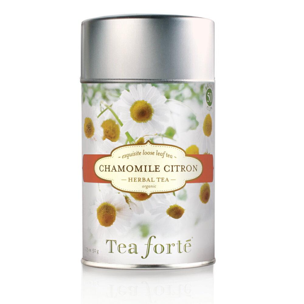 <br/><br/>  Tea Forte 罐裝茶系列 - 洋甘菊香櫞茶 Chamomile Citron<br/><br/>