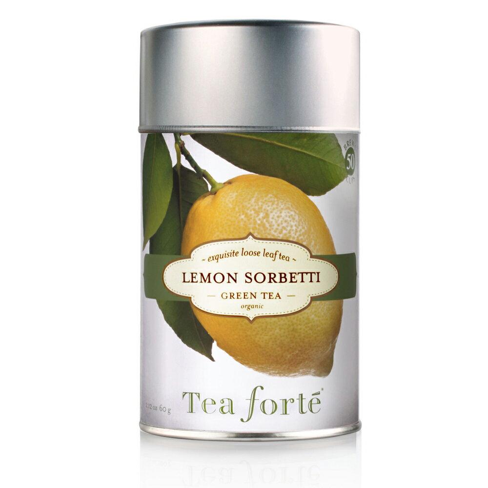 Tea Forte 罐裝茶系列 - 檸檬雪寶 Lemon Sorbetti 0