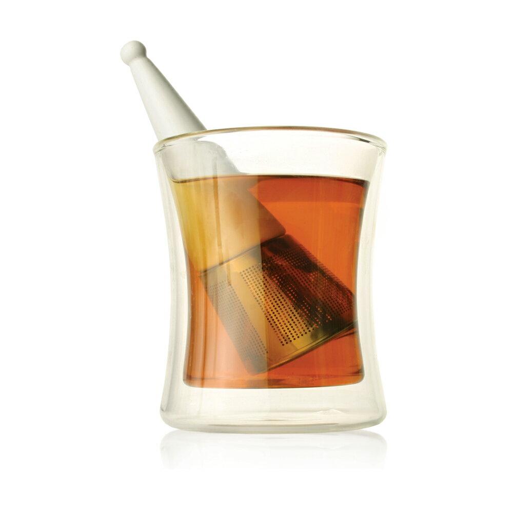 Tea Forte 露思錐型茶葉濾器(白瓷) 3