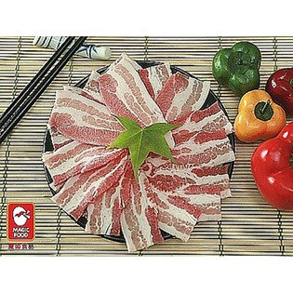 國產豬五花肉切片(厚1.5mm片)
