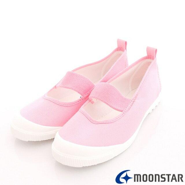 日本Moonstar抗菌防滑室內鞋(粉)中小童段-1931 - 限時優惠好康折扣