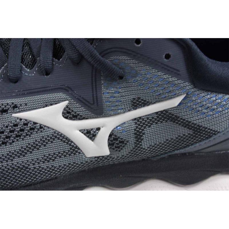 美津濃 Mizuno WAVE SKY 4 SW 慢跑鞋 運動鞋 深灰色 男鞋 JIGC201140 no115 2