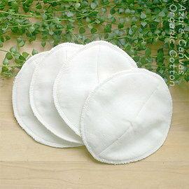 【淘氣寶寶】藍天畫布100%有機棉防溢乳墊(四片裝)
