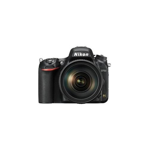 "Nikon D750 24.3 Megapixel Digital SLR Camera with Lens - 24 mm - 120 mm - 3.2"" LCD - 16:9 - 5x Optical Zoom - i-TTL - 6016 x 4016 Image - 1920 x 1080 Video - HDMI - HD Movie Mode 1"
