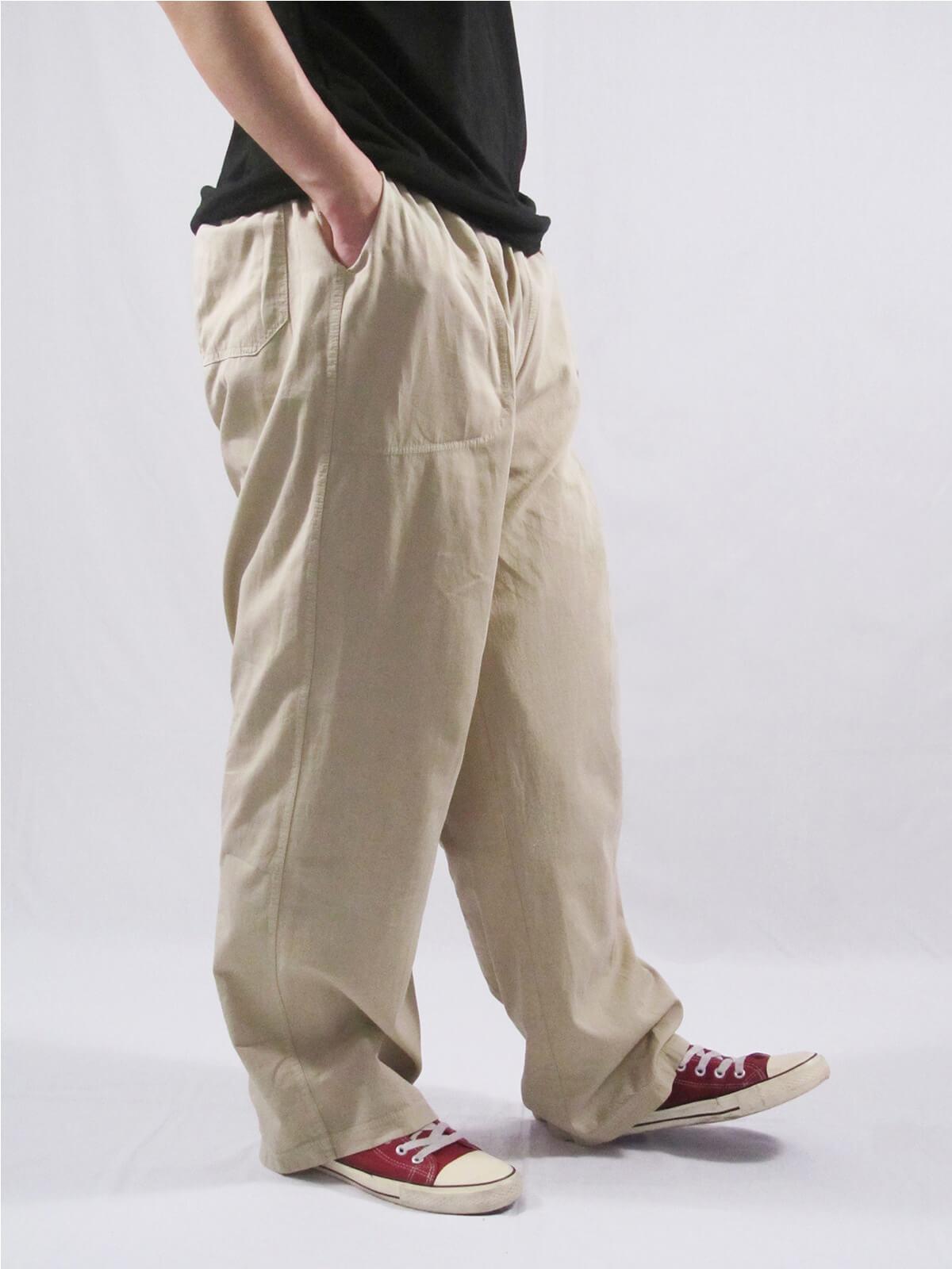加大尺碼手染酵素洗休閒褲 台灣製休閒長褲 棉100%大尺寸長褲 棉質長褲 黑色長褲 BIG&TALL PANTS (020-0218-08)深藍色、(020-0218-11)軍綠色、(020-0218-16)卡其色、(020-0218-21)黑色、(020-0218-22)灰色 尺寸3L 5L(腰圍:36~50英吋) [實體店面保障] sun-e 2