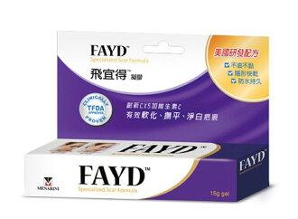 【FAYD 飛宜得】 疤痕凝膠15g『單次購買2盒隨貨附贈ok繃』
