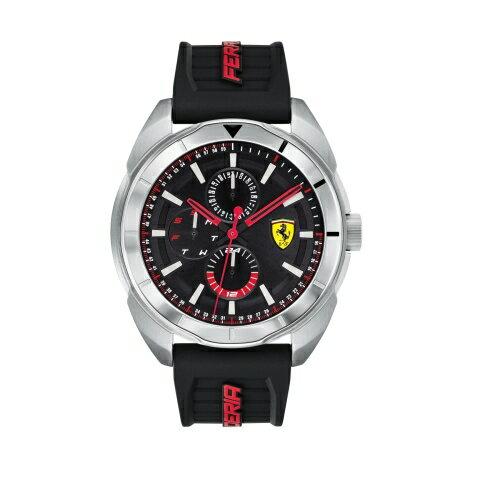 Ferrari法拉利狂飆飛速橡膠時尚腕錶0830546