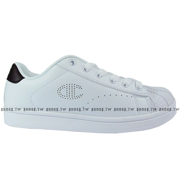 Shoestw【921210101】【921220101】Champion 休閒鞋 貝殼鞋 板鞋 皮革 白黑 男女尺寸都有 情侶款式 0