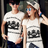 ◆快速出貨◆T恤.情侶裝.班服.MIT台灣製.獨家配對情侶裝.客製化.純棉短T.黃冠雙馬【Y0317】可單買.艾咪E舖 0
