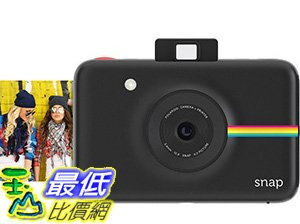 [106美國直購]PolaroidSnap數位拍立得InstantDigitalCamerawithZINKZeroInkPrintingTechnology